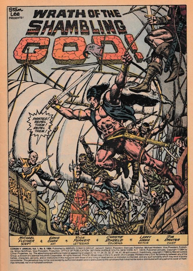 Conan Annual 9 pg1
