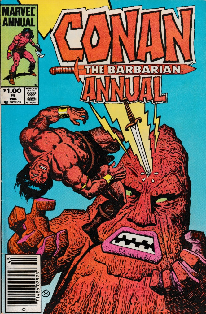 Conan Annual Cover