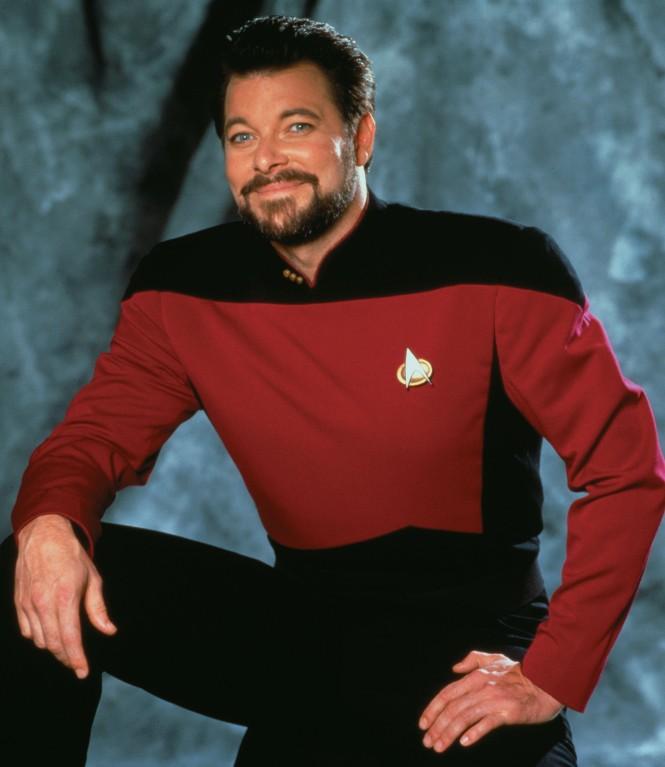 Jonathan Frakes In 'Star Trek: The Next Generation'