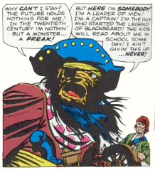 The Thing as Blackbeard