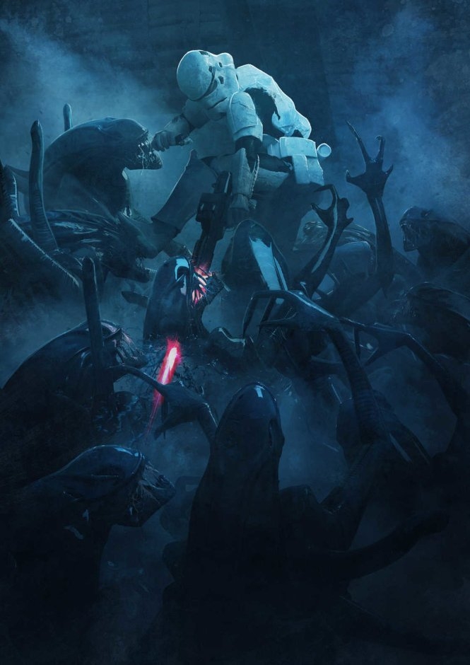 Guillem H. Pongiluppi - star wars vs aliens