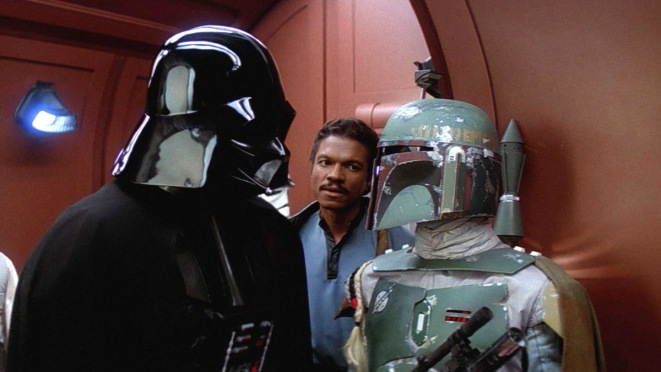 SW ESB Darth Vader, Lando and Boba
