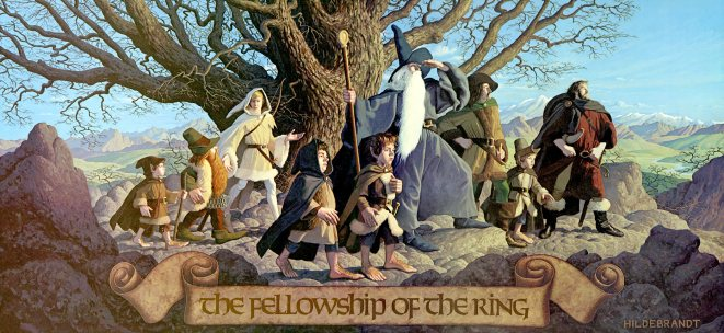 Hildebrandt Fellowship of the Ring