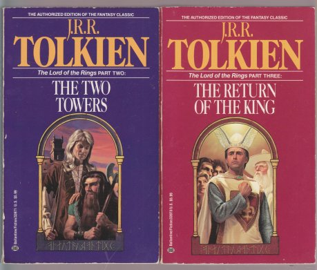 Michael Herring LOTR Covers