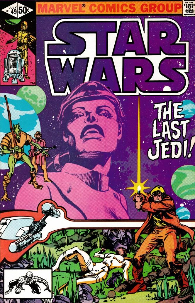 Star Wars TLJ Cover