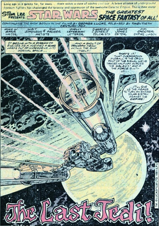 Star Wars TLJ pg 1