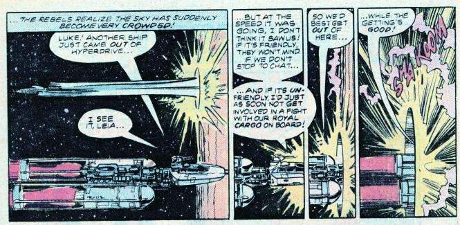 Star Wars TLJ hyperspace