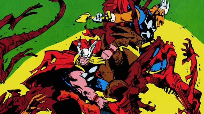 Walt Simonson Thor & Beta Ray Bill